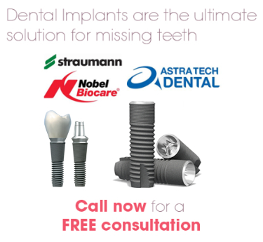 Surbiton Smile Dental Centre provide Straumann, Nobel Biocare, and Astratech dental implant products
