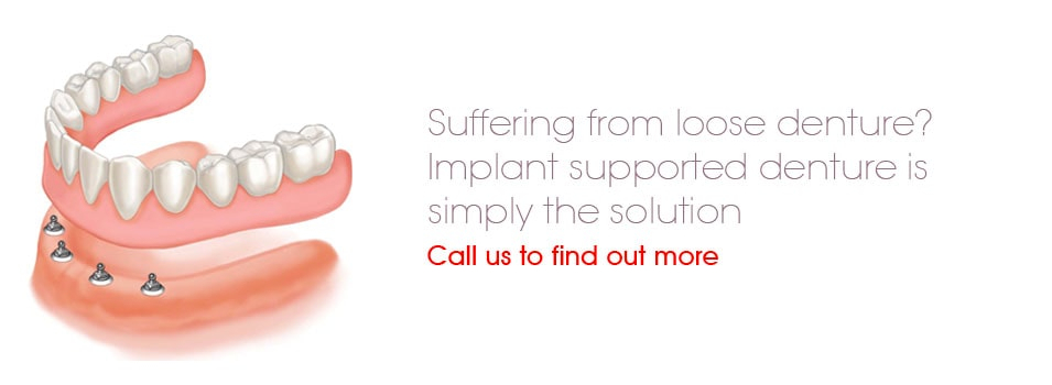 Suffering from loose dentures - call Surbiton Smile Dental Centre on 0208 33 99 333